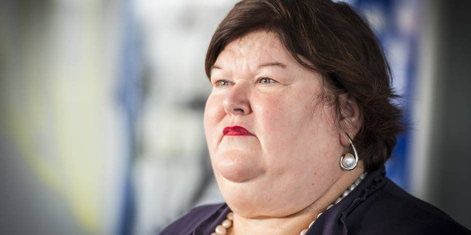 Quand Maggie De Block pesait 60 kilos