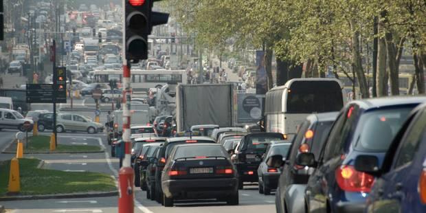 Plan de mobilité: Touring prédit un chaos du trafic à Bruxelles - La Libre