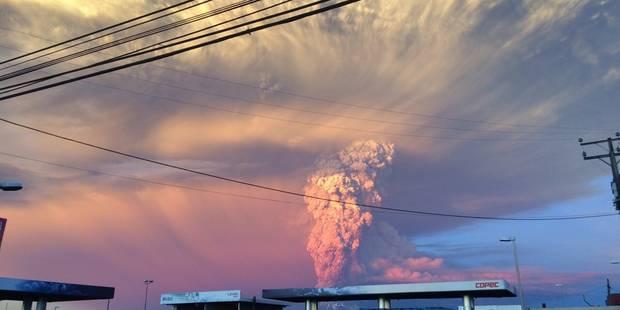 Chili: le volcan Calbuco se réveille après 43 ans de silence - La Libre