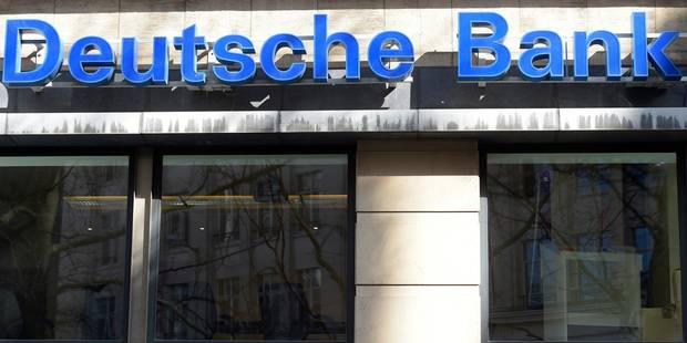 Deutsche Bank condamnée à une amende de 2,51 milliards de dollars - La Libre
