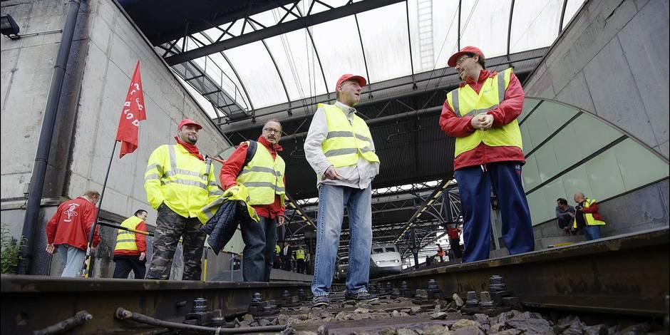 Jackpot de 11 millions pour les syndicats des cheminots - La Libre