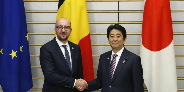 Mission économique au Japon: Shinzo Abe effectuera une visite en Belgique - La Libre
