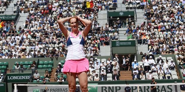 Roland Garros: Van Uytvanck se qualifie pour les quarts de finale - La Libre