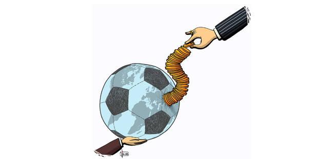 Ballon qui roule amasse la mousse - La Libre