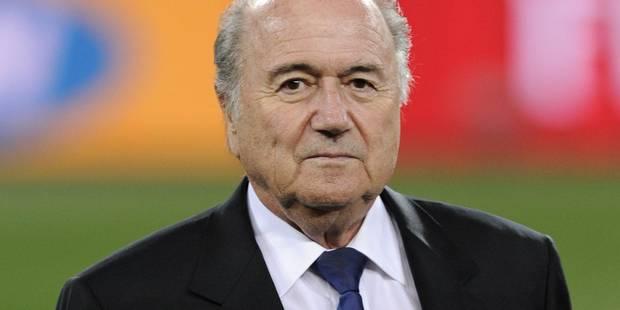 FIFA: Sepp Blatter exclut son départ immédiat - La Libre