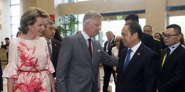 Le Roi appelle à bâtir des ponts entre la Chine et la Belgique - La Libre