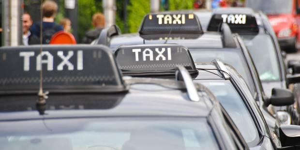 Des chauffeurs de taxi bruxellois rejoignent la manifestation contre Uber en France - La Libre