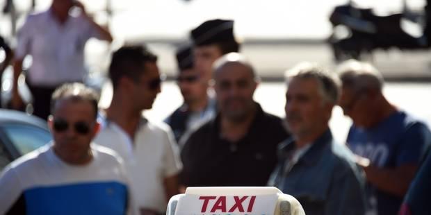 Manifestations contre Uber à Paris : un taximan bruxellois arrêté - La Libre