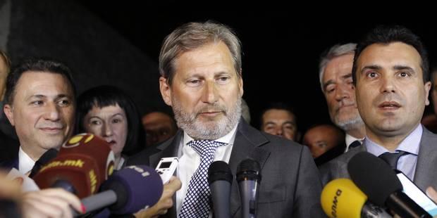 L'Union européenne impose un compromis à Skopje - La Libre