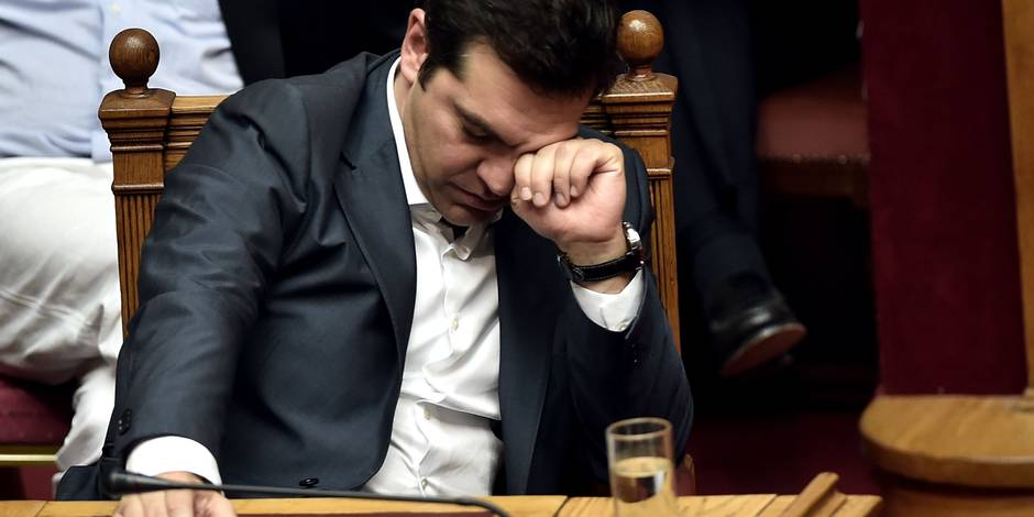 "Tsipras ""ne mange plus, ne dort plus"", s'inquiète sa mère"