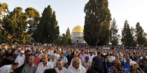Des policiers israéliens entrent à al-Aqsa: heurts avec des Palestiniens - La Libre