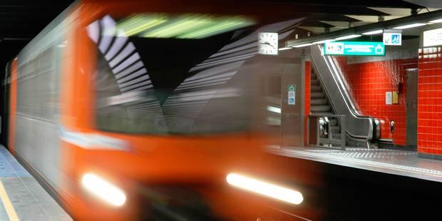 Perturbations dans le métro bruxellois suite au malaise d'un voyageur - La Libre
