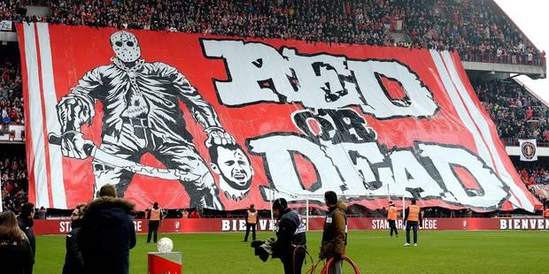 """Tifo anti-Defour: 8 mois d'interdiction de stade pour le responsable des """"Ultras Inferno"""" - La Libre"""