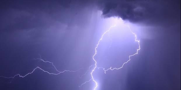 Alerte jaune sur la Belgique: attention aux averses et orages - La Libre