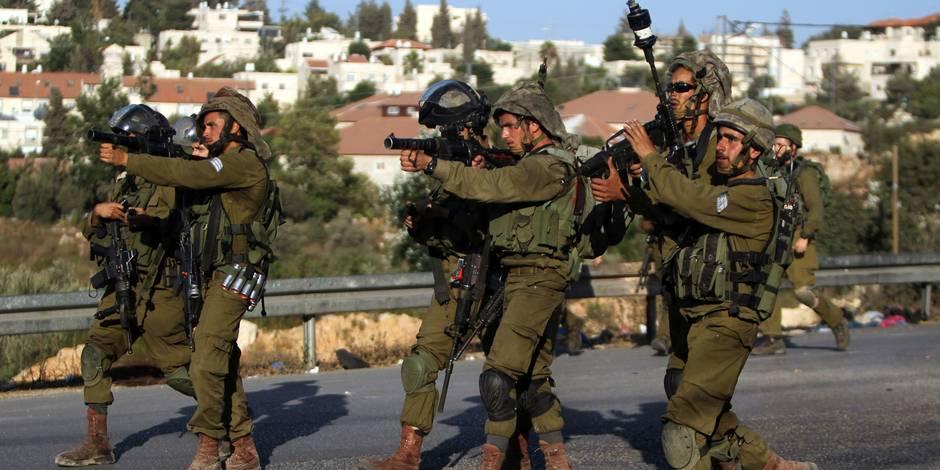 Heurts, jets de pierre, grenades lacrymogènes: la situation dégénère en Cisjordanie