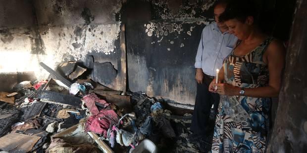Le père du bébé palestinien brûlé vif succombe à ses blessures - La Libre