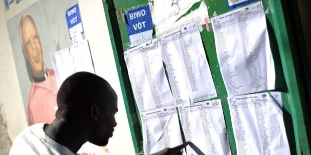 Fermeture des bureaux de vote pour les législatives en Haïti - La Libre