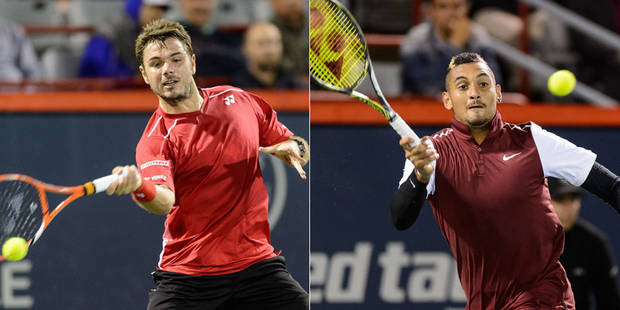 Tennis: les propos très crus de Kyrgios au sujet de la compagne de Wawrinka - La Libre