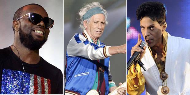 Maître Gims, Keith Richards, Prince et les Chedid, stars de la rentrée - La Libre