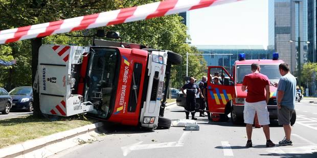 Démission de la directrice du service d'incendie et d'aide médicale urgente de Bruxelles - La Libre