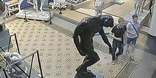 d9ee525eb95 Une sculpture de Rodin volée à Copenhague pendant les heures d ouverture du  musée - La Libre