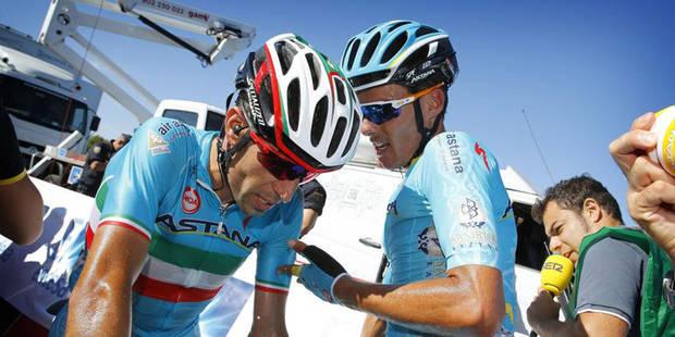 Vincenzo Nibali exclu de la Vuelta ! (VIDEO) - La Libre