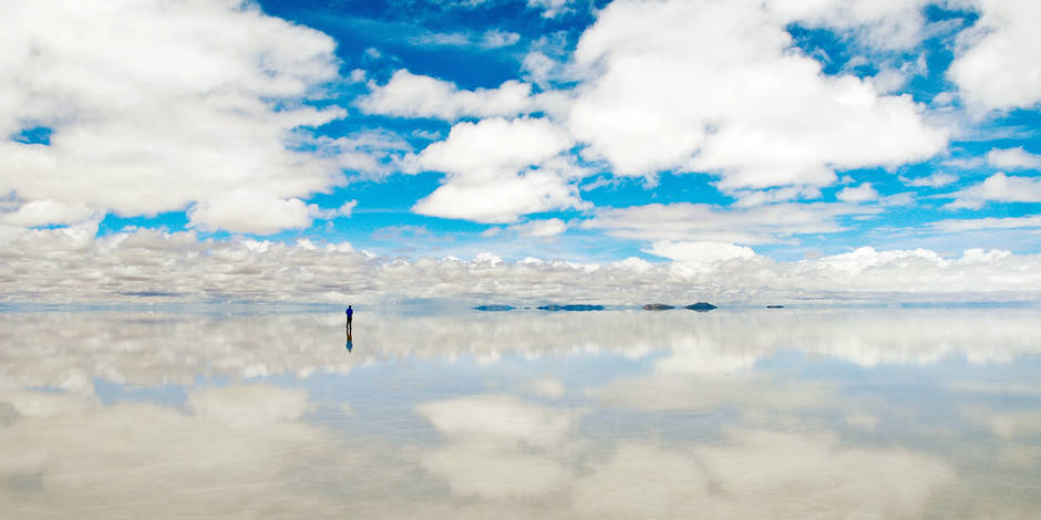 Bolivia: salt flat Salar de Uyuni in the Potos' department on the south-western high plateaus (3658m), the biggest salt desert in the world Reporters / Andia