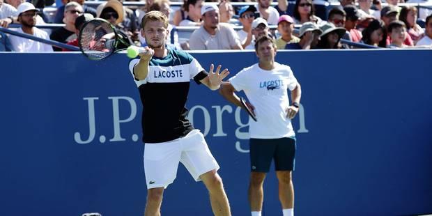 US Open: Van Uytvanck éliminée, Goffin file au deuxième tour - La Libre