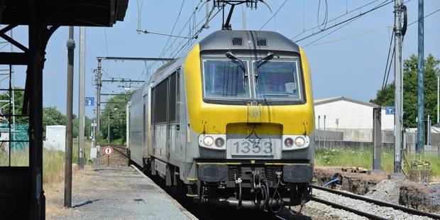 La circulation des trains interrompue entre Bruxelles et Louvain - La Libre