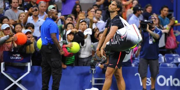 US Open: Rafael Nadal éliminé dès le 3e tour par Fognini après 3h46 de match - La Libre