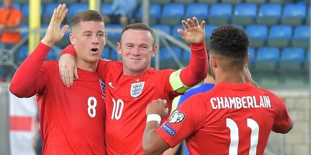 Euro 2016: les Anglais premiers qualifiés, record pour Rooney - La Libre