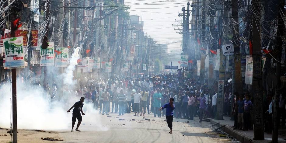 Népal: La colère sociale fait trembler Katmandou - La Libre