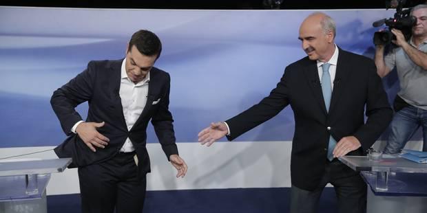 Grèce: vif débat entre les deux principaux rivaux aux législatives de dimanche - La Libre