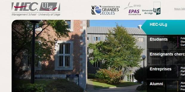 HEC-ULg évalue son impact financier - La Libre
