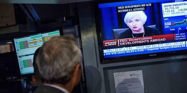 Taux de la FED inchangés: Quel est le rêve monétaire de Janet Yellen ? - La Libre