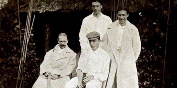 Il y a 111 ans, les Belges jouaient leur première finale de Coupe Davis - La Libre