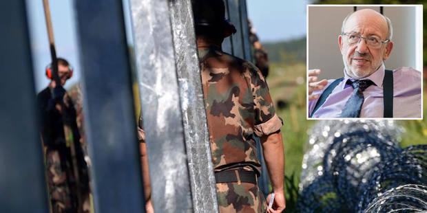 """L'armée autorisée à tirer sur les migrants en Hongrie: """"Ils fuient les balles pour risquer celles d'Orban"""" - La Libre"""