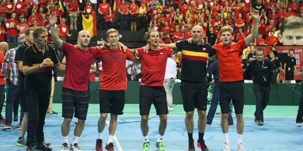 La finale de la Coupe Davis aura lieu à Gand sur terre battue - La Libre