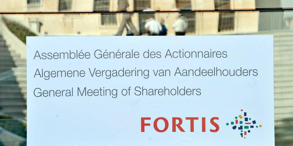 """Affaire Fortis : Ageas écope d'une amende de 250.000 euros pour """"communication lacunaire"""""""