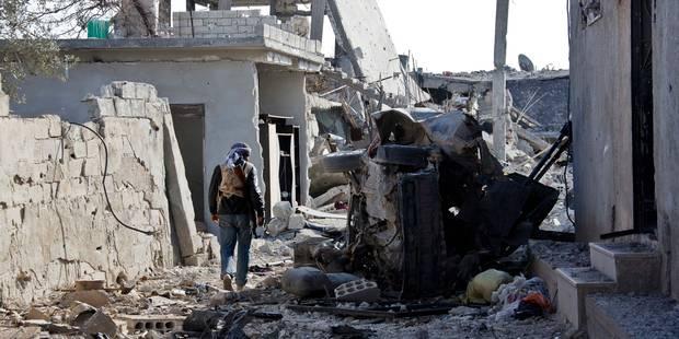 Des rebelles syriens formés par les Américains ont remis des munitions à Al-Qaïda - La Libre