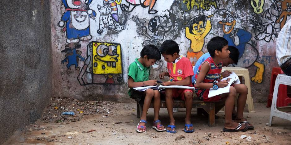 En Inde, le rêve brisé de l'éducation pour tous - La Libre