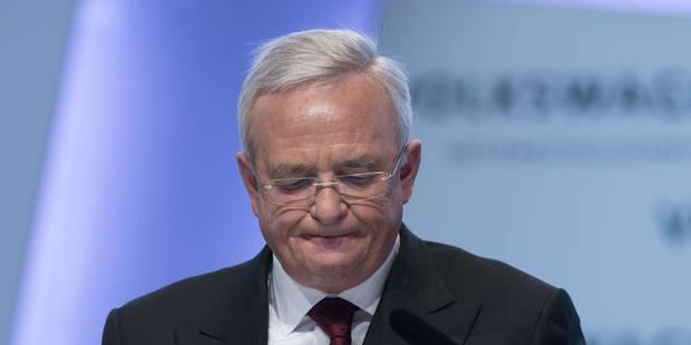 Scandale Volkswagen: information judiciaire contre l'ex-patron Martin Winterkorn - La Libre