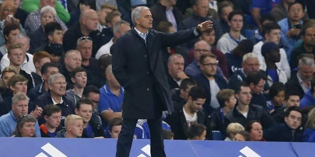 """Le coup de gueule de Mourinho: """"Si Chelsea me vire, ils virent le meilleur entraîneur de leur histoire"""" - La Libre"""