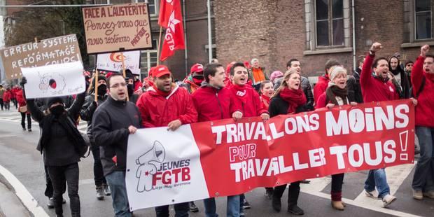 Probablement grève dans la province de Liège le 19 octobre - La Libre