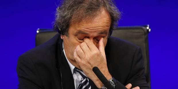 Platini vivement critiqué par les médias français (Revue de presse) - La Libre