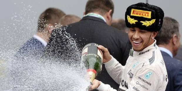 Lewis Hamilton au-dessus du lot - La Libre