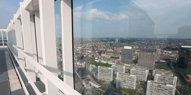 500.000 euros aux enchères pour le top de la tour Up-site - La Libre