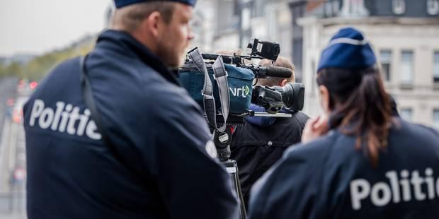 La police anversoise neutralise une adolescente en tirant une balle en plastique - La Libre