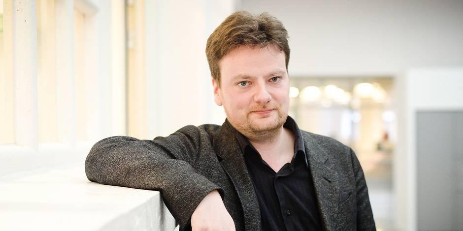 Bruxelles - Etterbeek: François De Smet - philosophe et scénariste francophone belge est l'invité du samedi de LaLibre.be