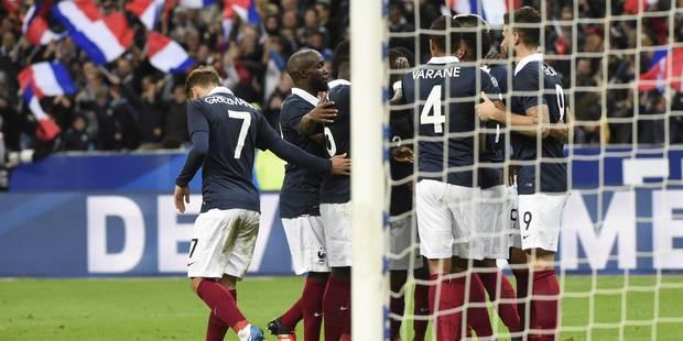 Amical: la France se paie l'Allemagne (2-0) - La Libre